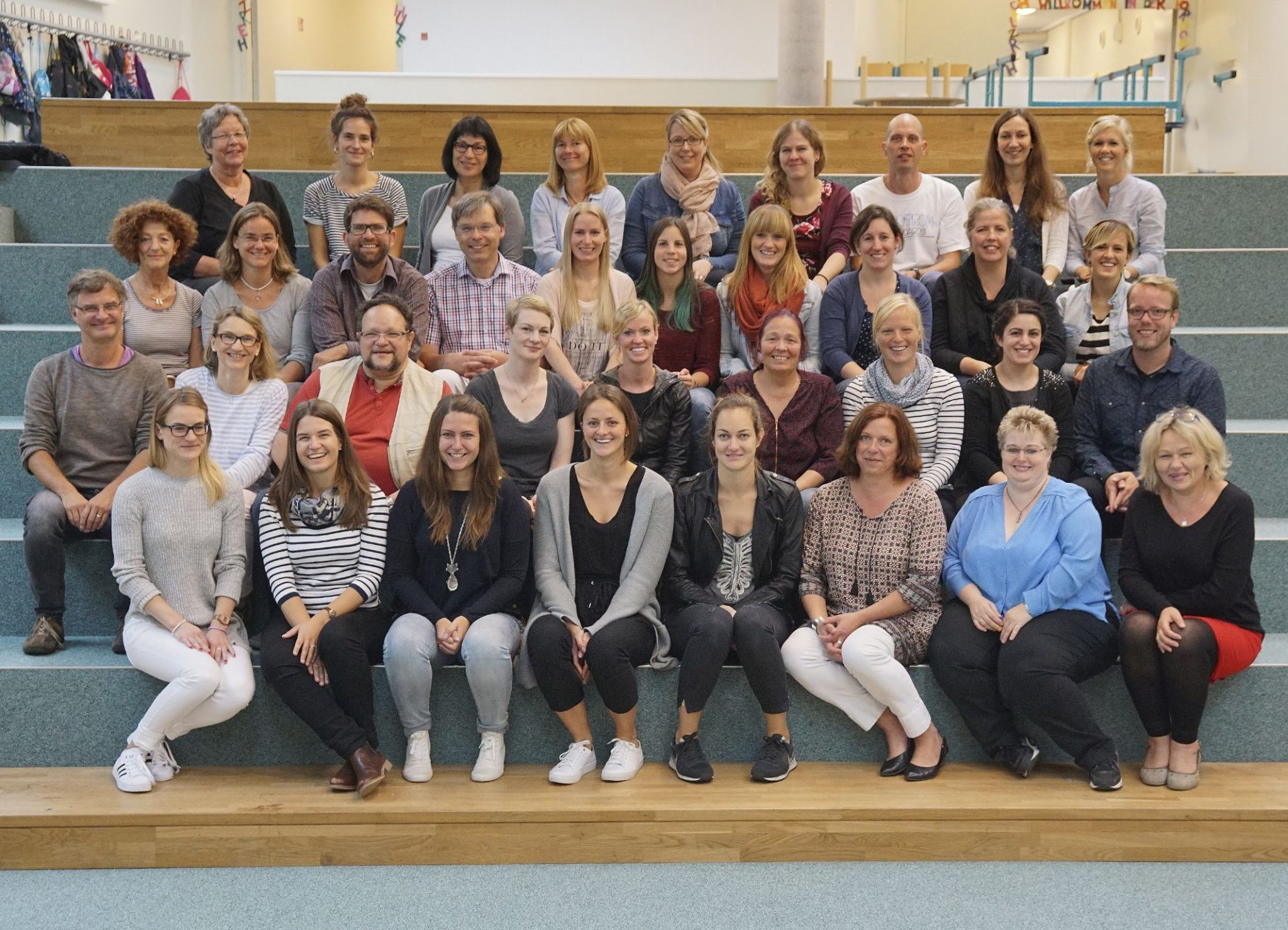 Foto vom Kollegium Johannisland