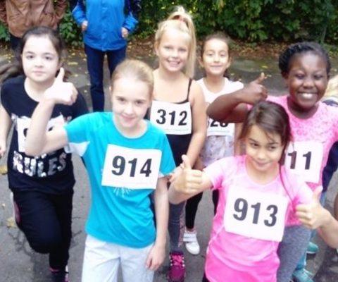 Wir haben am Haake-Crosslauf teilgenommen!