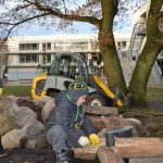 Foto Sandkistenbau Grundschule Am Johannisland