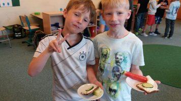 Von Gurkenbroten und hungrigen Mäulchen