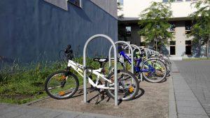 Foto vom Fahrradständer