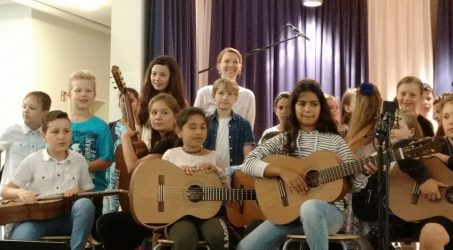 Our JeKi concert of the third and fourth classes
