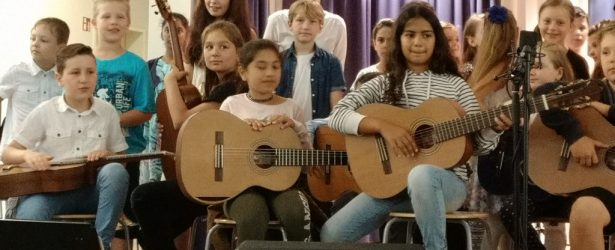 Unser JeKi-Konzert der dritten und vierten Klassen