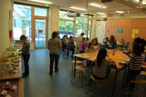 Frühstücksraum der Grundschule Johannisland