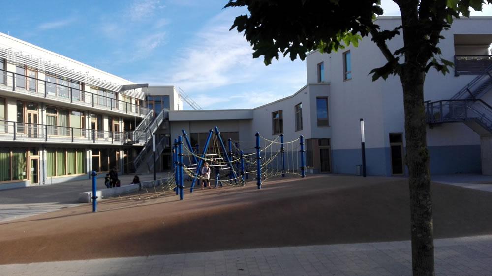 Foto vom Schulhof