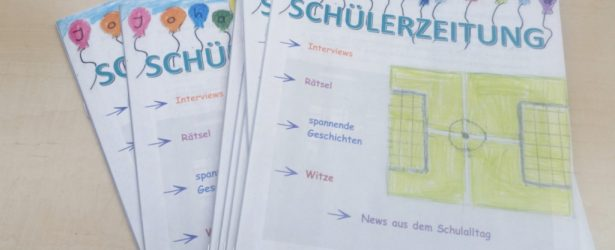 Die neue Schülerzeitung ist draußen